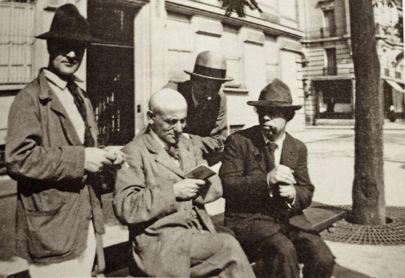 Modigliani, Max Jacob, André Salmon, Ortiz de Zarate