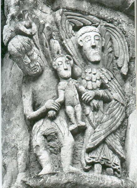 Basilique de Saint Benoît sur Loire – L'ange et le Diable