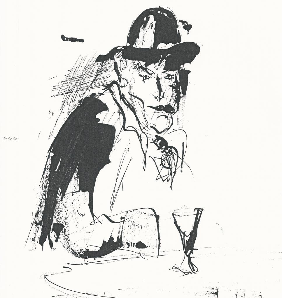 Portrait imaginé de Léon Aréga