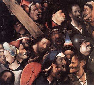 Bosch le portement de croix 1515 16