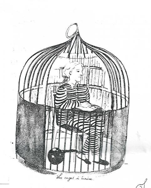 La cage de l'écrivain