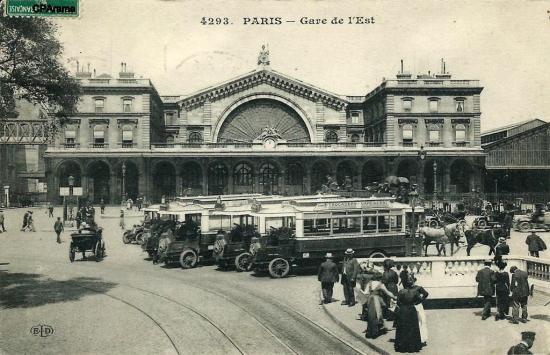 Gare de l est2