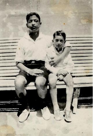 Joseph et son frère Léon