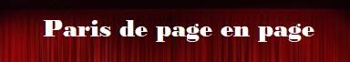 Paris de page en page