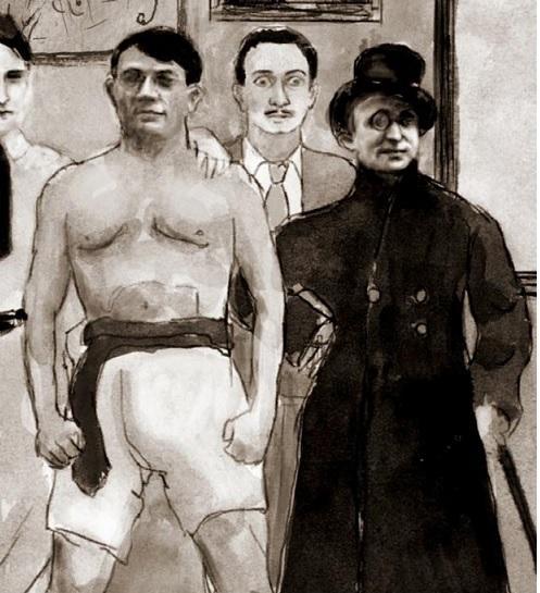 Pablo Picasso et Max Jacob