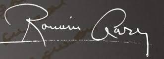 Signature de Romain Gary
